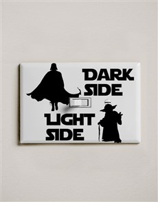 gifts: Dark Side Light Side Light Switch Wall Vinyl!