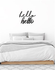 gifts: Hello Hello Wall Vinyl!