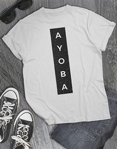 gifts: Ayoba Glitter T Shirt !