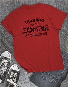 gifts: Zombie Apocalypse T Shirt!
