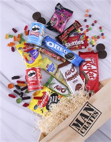 gifts: Sweet Assortments Man Crate!