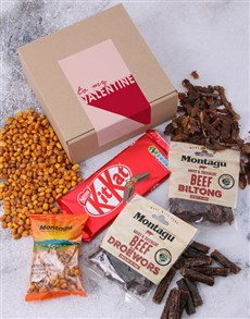 gifts: To My Valentine Biltong Box!