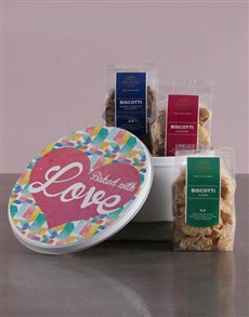 gifts: Baked With Love Gourmet Cookie Tin!