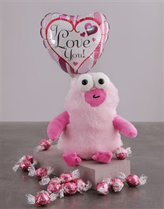 gifts: Love You Monster Teddy Hamper!