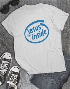 gifts: Jesus Inside Christian Shirt!