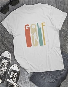 gifts: Stretched Letters Golfer Shirt!
