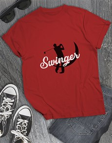 gifts: Swinger Golfing Shirt!