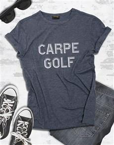 gifts: Carpe Golf Shirt!
