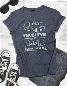 gifts: Golfing Solves My Problems Shirt!