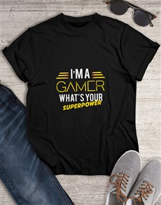 gifts: Supergamer Tshirt!