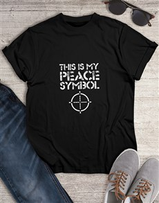 gifts: Gamers Peace Symbol Tshirt!