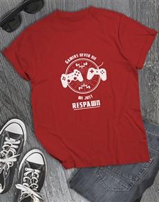 gifts: Gamers Respawn Tshirt!