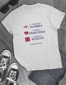 gifts: Gamer Things Tshirt!