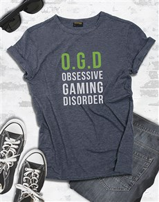 gifts: Obsessive Gaming Disorder Tshirt!