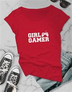 gifts: Girl Gamer Ladies Tshirt!
