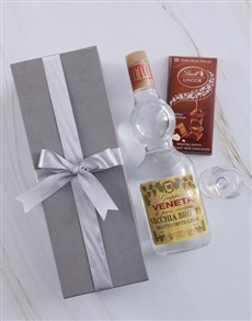 gifts: Silver Box of Grappa Veneta!
