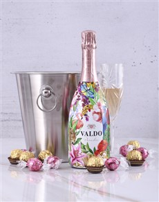 gifts: Valdo Floral Prosecco Ice Bucket!