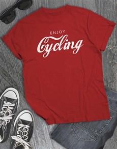 gifts: Enjoy Cycling T Shirt!
