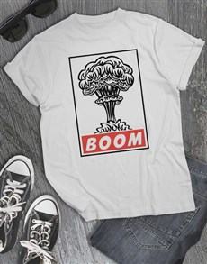 gifts: Boom Graphic T Shirt!