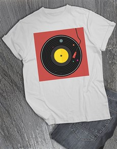 gifts: Retro Vinyl T Shirt!