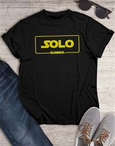 gifts: Solo Single Runner T Shirt!