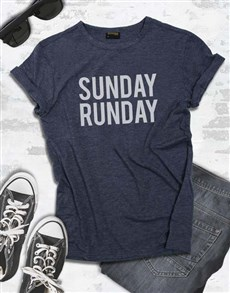 gifts: Sunday Runday T Shirt!