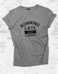 gifts: Running Late Ladies T Shirt!