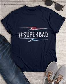 gifts: Super Dad T Shirt!