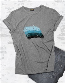 gifts: Retro Car Graphic T Shirt!