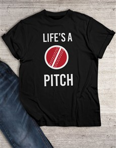 gifts: Lifes A Pitch T Shirt!