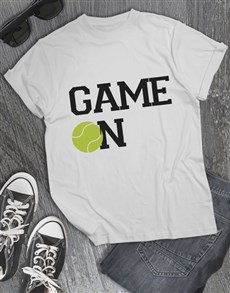 gifts: Tennis Game On T Shirt!