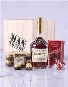 gifts: Hennessy VS Man Crate!