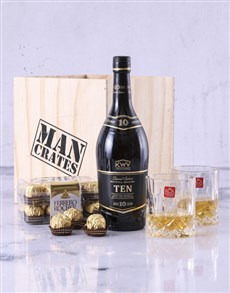 gifts: KWV 10 Year Man Crate!
