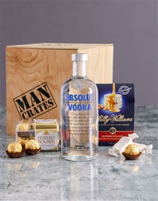 gifts: Absolut Man Crate!