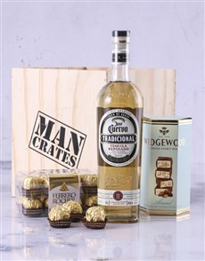 gifts: Jose Cuervo Man Crate!