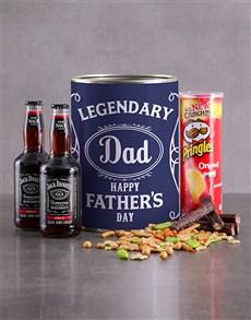 gifts: Jack Daniels Bro Bucket for dad!
