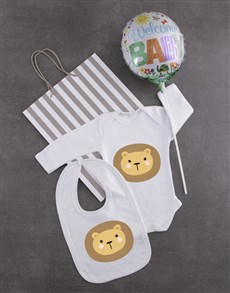 gifts: Little Lion Gift Set!