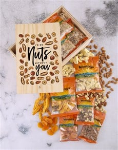 gifts: Nuts Without You Fruit and Nut Crate!