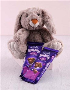 gifts: Bunny with Cadbury Slabs Hamper!
