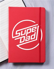 gifts: Superdad A5 Notebook!