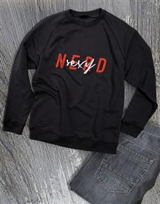 gifts: Sexy Nerd Sweatshirt!
