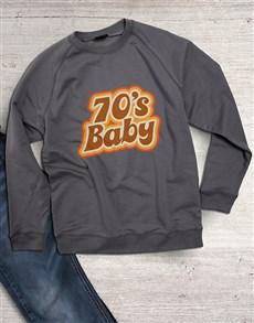 gifts: 70s Baby Sweatshirt!
