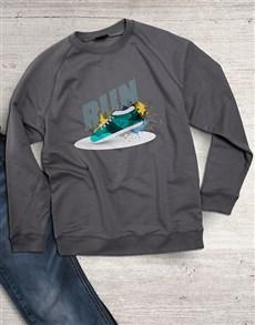 gifts: Run Graphic Sweatshirt!