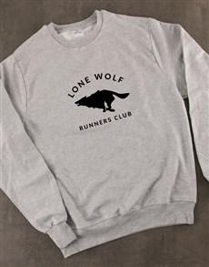 gifts: Lone Wolf Runners Club Sweatshirt!