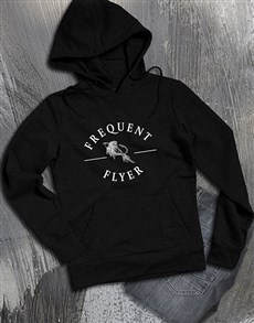 gifts: Frequent Flyer Hoodie!