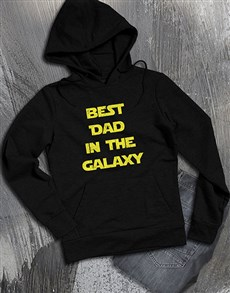 gifts: Best Dad In The Galaxy Hoodie!