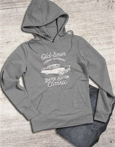 gifts: Retro Old Timer Hoodie!