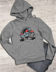 gifts: Vintage True Biker Hoodie!