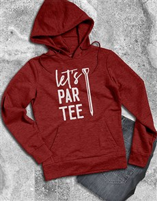 gifts: Lets Partee Hoodie!