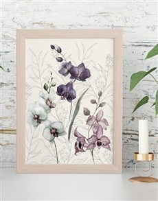 gifts: Floral Framed Wall Art !